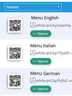 PDF QR Codes erstellen